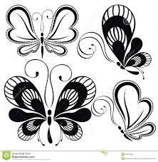 Resultado de imagen para vector mariposas tatuaje