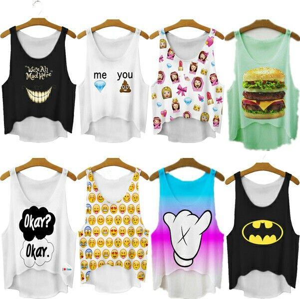 Camisas sin mangas