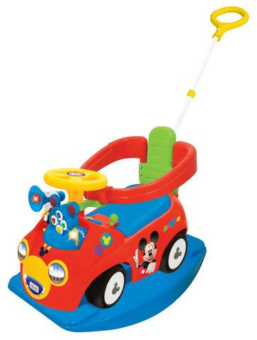 Disney Mickey Mouse 4-in-1 Activity Gears Ride On