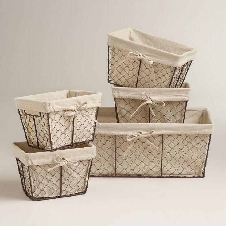 X Large Storage Baskets Photos