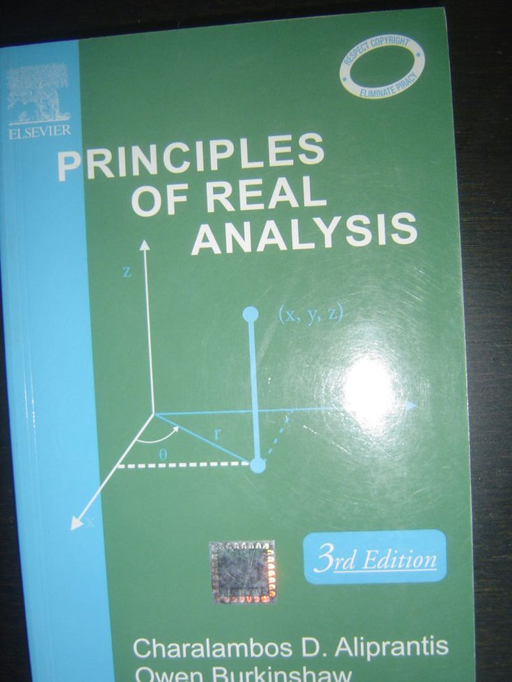 Principles Of Real Analysis von Charalambos Aliprantis