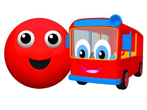"""""""The Bus is Red"""" Plus More   Surprise Egg Openings   Teach Baby Colors & Counting by Busy Beavers - YouTube"""