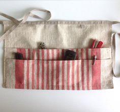 linen utility apron / gardening apron / half apron by BicoEstonia