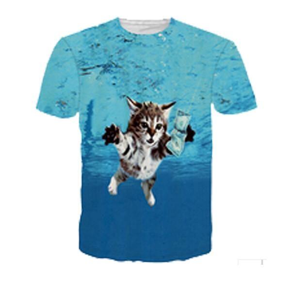 Teenager T-Shirts Mens Women Fashion Style Tee-Shirts Casual Modern T-Shirt