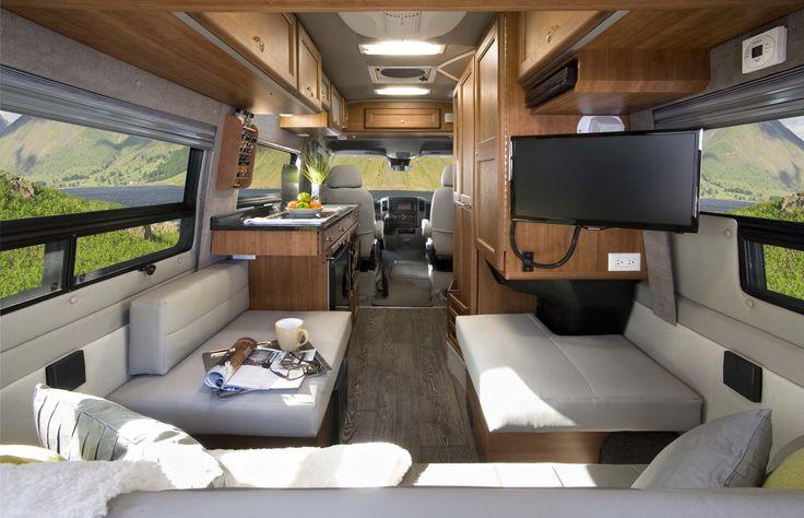 Mercedes Tour Van >> SS Agile with Cherry and Platinum Interior | Roadtrek SS ...