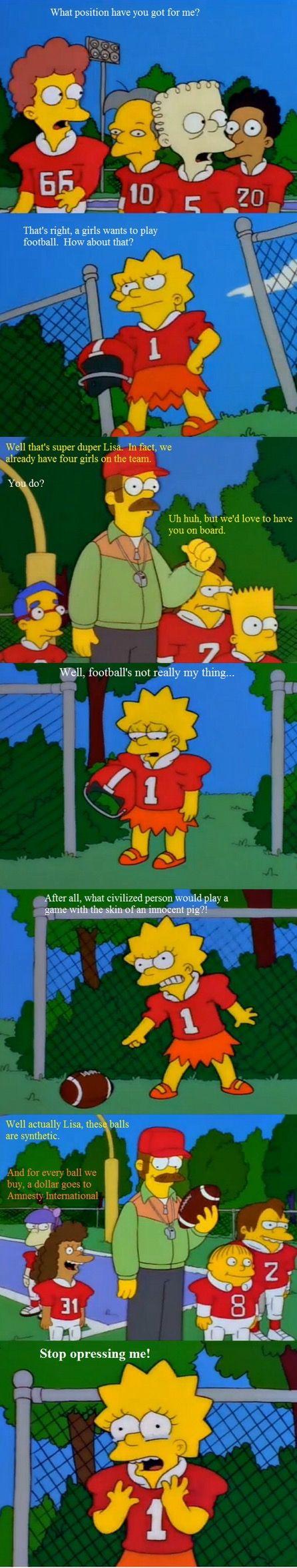 Oh Lisa...