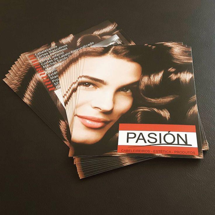 Panfletos para Salão de Beleza