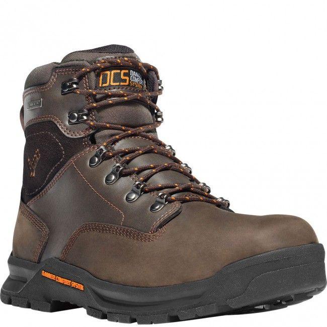 12433 Danner Men's Crafter 6IN Work Boots - Brown www.bootbay.com