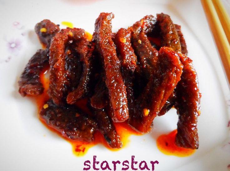 私房小菜: 自制麻辣牛肉干 - 由starstar发表 - 文学城