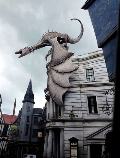 Gringotts at the Wizarding World of Harry Potter, Diagon Alley (Universal Orlando)