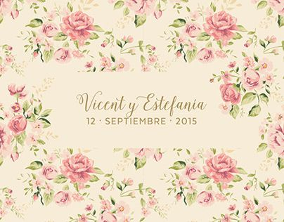 "Check out new work on my @Behance portfolio: ""Vicent&Estefanía - Wedding Invitation"" http://be.net/gallery/36607693/Vicent-Estefania-Wedding-Invitation"