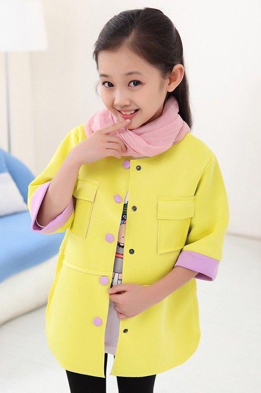Girls jacket blazer yellow lilac summer formal dress jacket age 4/5 years BNWT