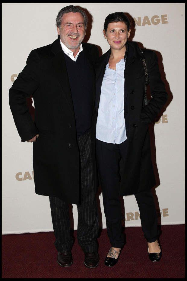 Daniel Auteuil et sa femme Aude Ambroggi, mère de son fils Zach, né en 2009