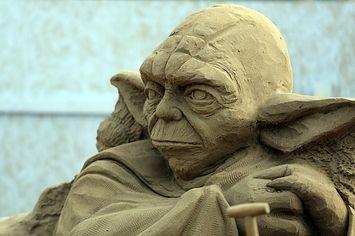 Famous Sand Sculptures | Famous Sculptures As Hipsters