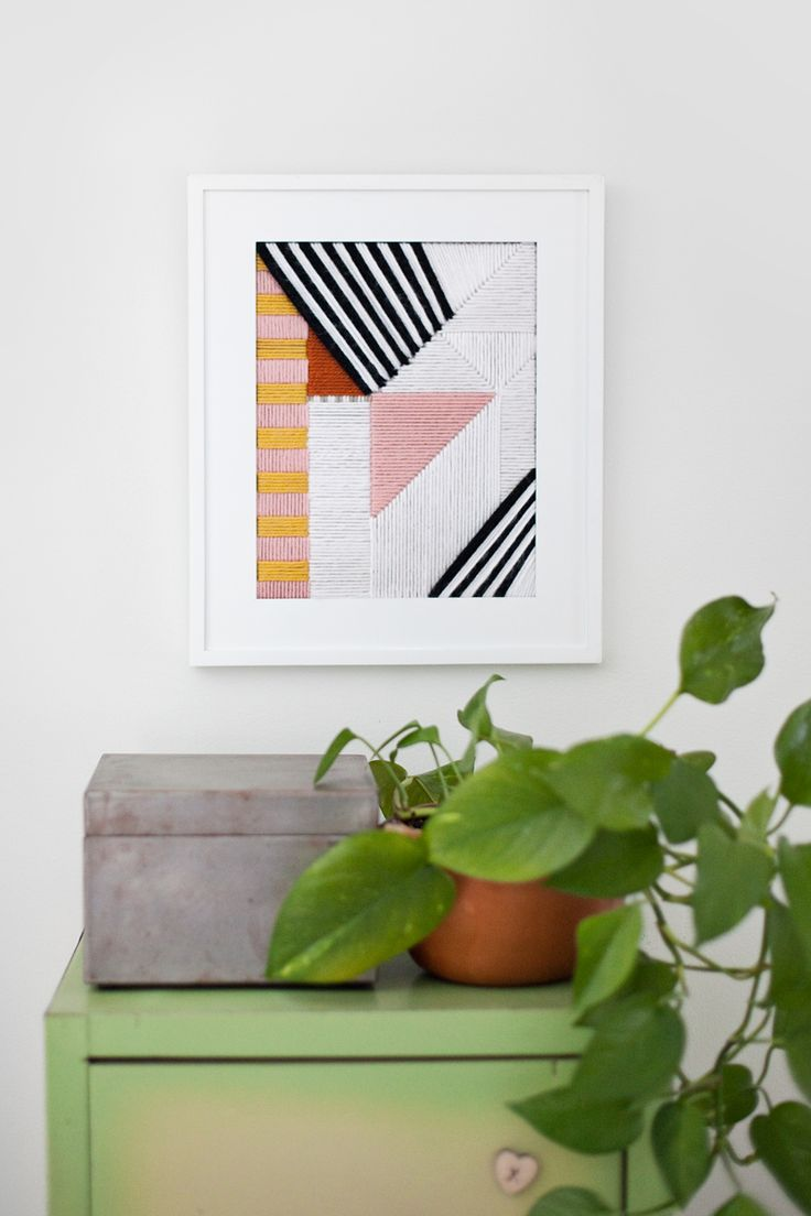 Use A Plastic Mesh Canvas To Create A Decorative Embroidery Piece