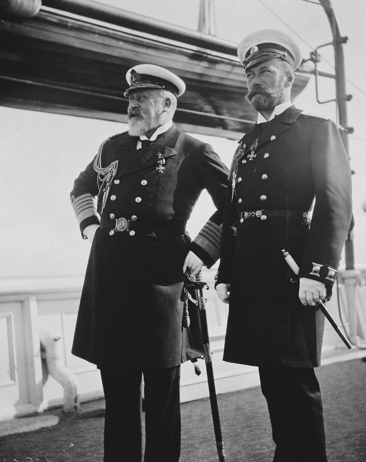 King Edward VII and Tsar Nicholas II