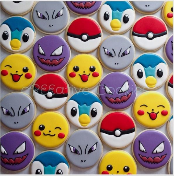 "cREEative Cookies by Ree 💕 on Instagram: ""Custom cookie order. Pokemon…"