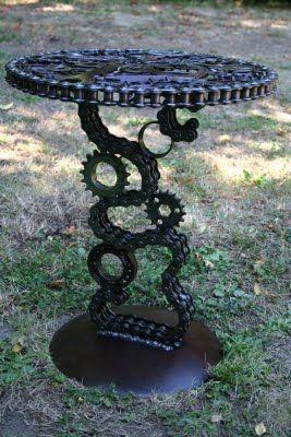 welded garden art -