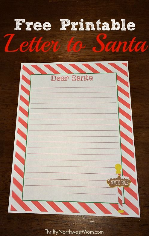 free printable letter to and from santa sohosonnet free printable letter to santa 25 days of 472