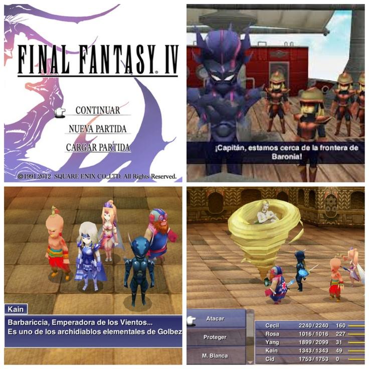 Final Fantasy IV para iOS.