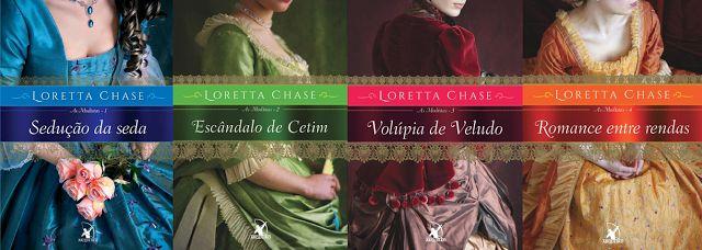 Nova Era: Volúpia de Veludo - As Modistas #3 - Loretta Chase...