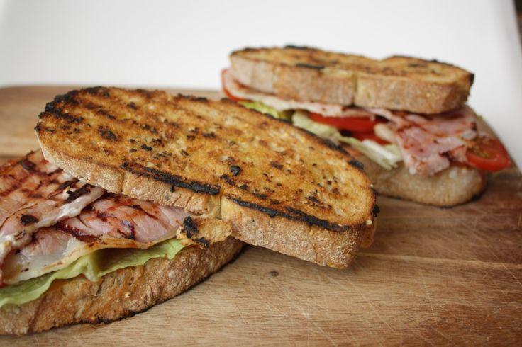 recept bacon sandwich
