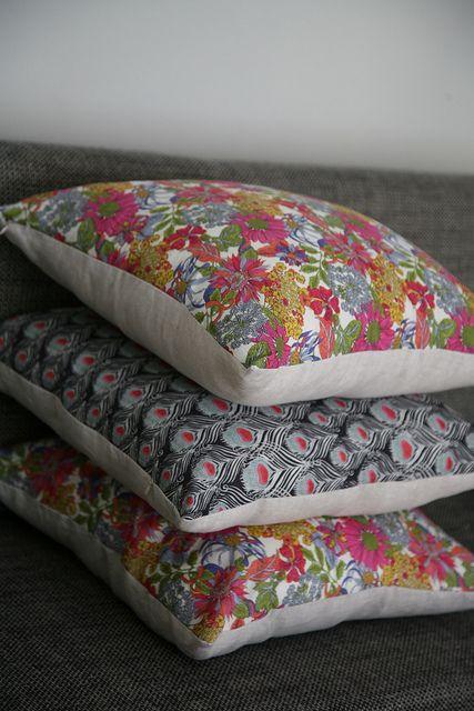 Liberty cushions