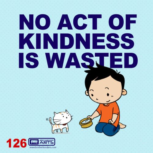 """126: Ahmad Says """"No act of kindness is wasted."""""""