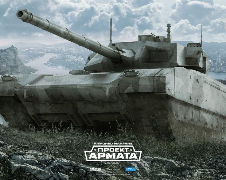 Скачать обои Armored Warfare, Obsidian Entertainment, гусли, tanks, Проект…
