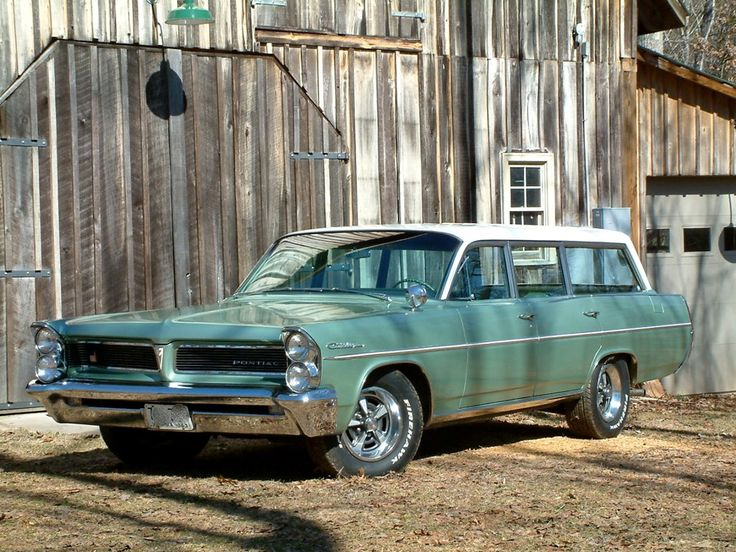 1963 Pontiac Catalina Safari Giant Green Grocery Getter