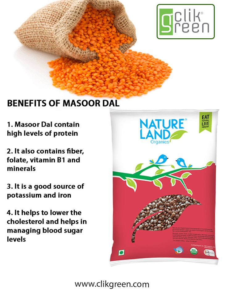 Benefit of Masoor Dal: 1. Masoor Dal contain high levels of protein. 2. It also contains fiber, folate, vitamin B1 and minerals. 3. It is a good source of potassium and iron. 4. It helps to lower the cholesterol and helps in managing sugar levels. #Dal #Organicfood #Organicproduct #Masoordal #VitaminB1 #Clikgreen #NatureLand