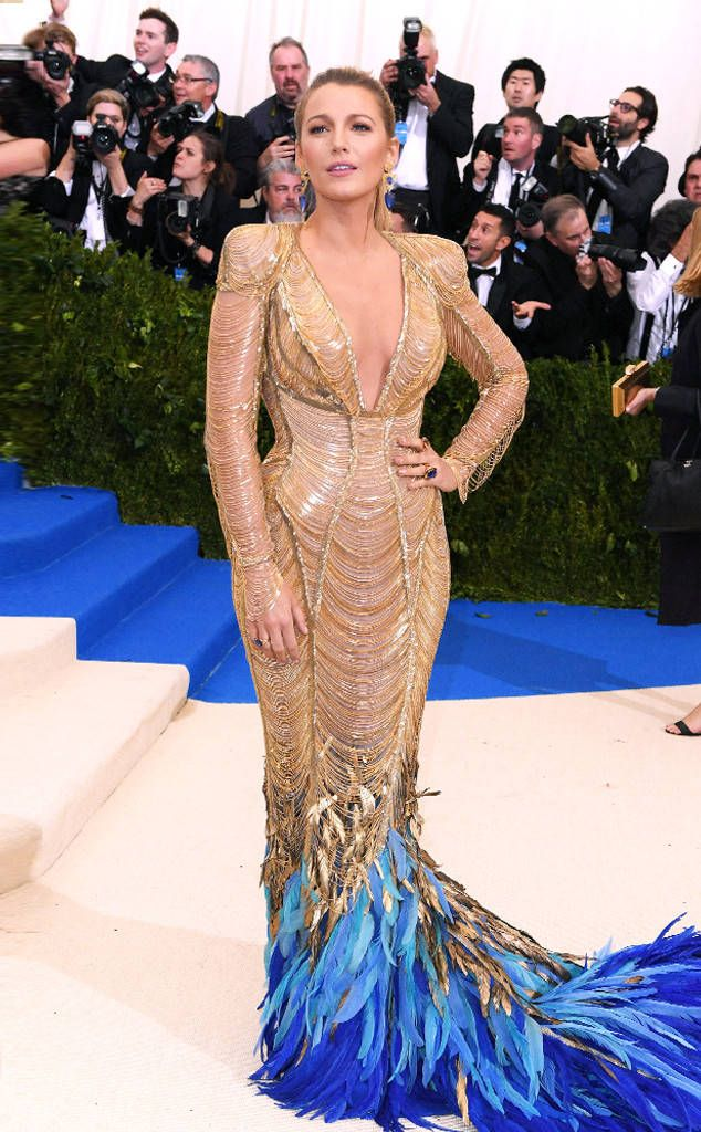 Blake Lively from 2017 Met Gala: Red Carpet Arrivals