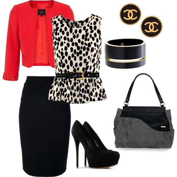 """""""Work Outfit for Fall/Winter with Neisha Handbag"""" by mickie-tucker on Polyvore"""