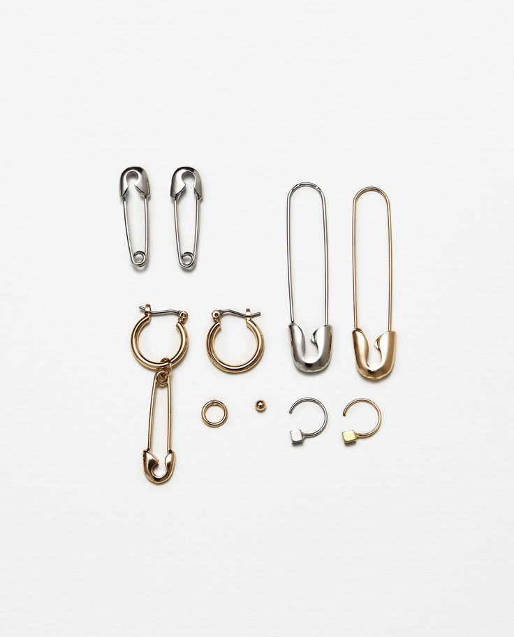 best 25  safety pin earrings ideas on pinterest