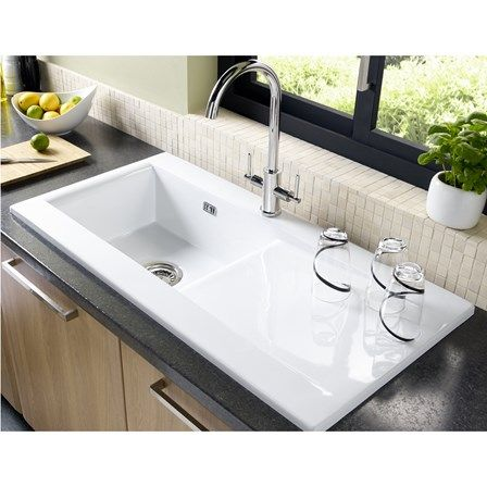 find this pin and more on ceramic kitchen sinks - Kitchen Sinks Uk