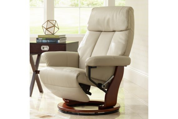 Brenton augusta stucco faux leather recliner furniture for All types of chairs