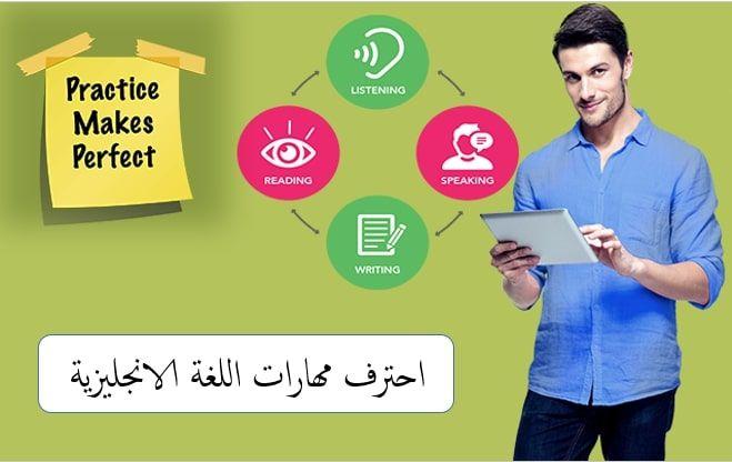 اتقان مهارات اللغة الانجليزية بشكل سحري Practice Listening Learn English Reading