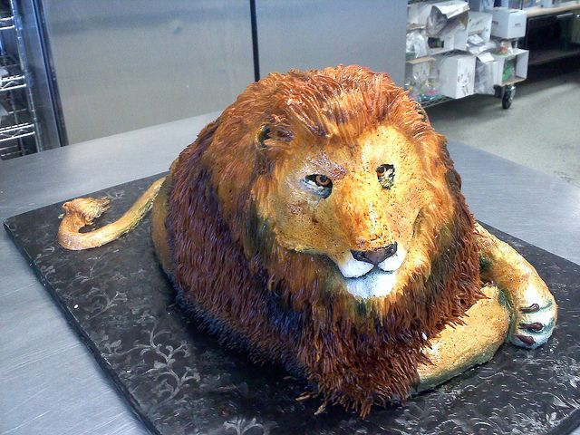 Best Wicked Cool Cakes Images On Pinterest Parties Wicked - Lion birthday cake design