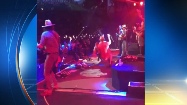 J.J. Watt sacks Zac Brown Band fan who jumped on stage | Latest News - Home