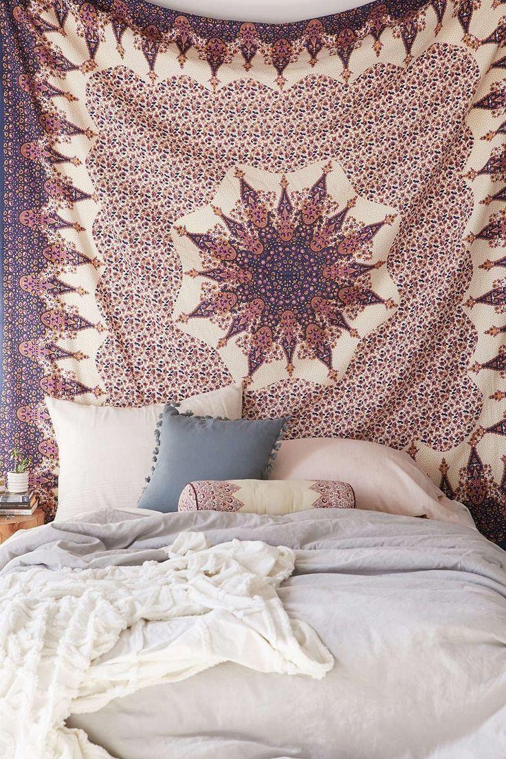 Handicraftofpinkcity Mandala Tapestries Hippie Dorm Tapestry Decorative Wall Hanging Throw Decor Indian Bohemian Bedspread: Amazon.in: Home & Kitchen