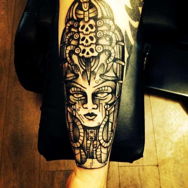 Gieger Tattoos Designs: H R Giger Piece Tattoo