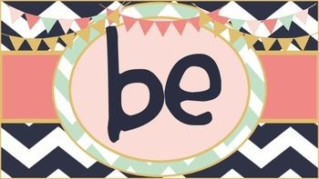 """This *FREEBIE* set includes a """"Be"""" sign and 114 (yes 114!) positive character traits to display in the classroom or office, to decorate a bulletin board, or to create an inspirational message display. There are two traits per sheet ranging from A to Z."""
