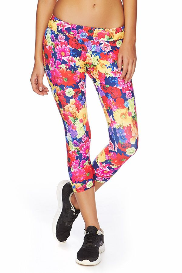 Floral Mania 7/8 Tight | Just Landed | New In | Categories | Lorna Jane Site #LJWISHLIST
