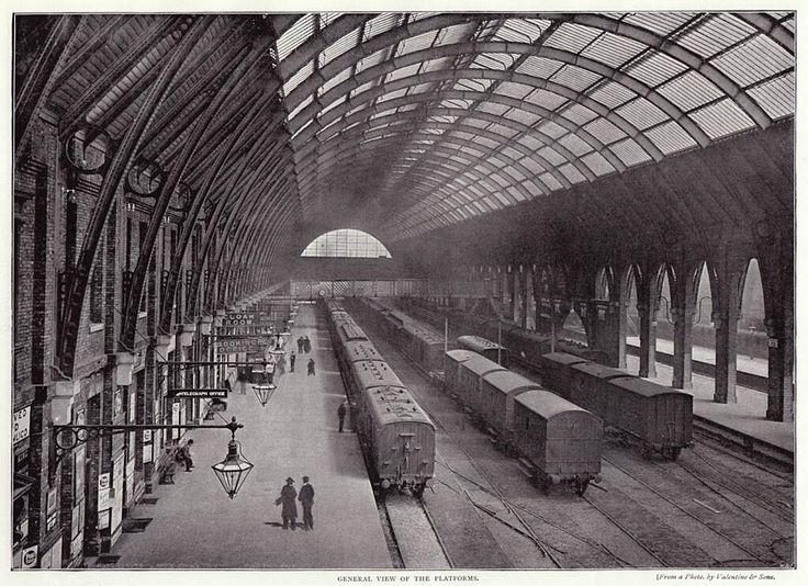 London King's Cross Station in 1896