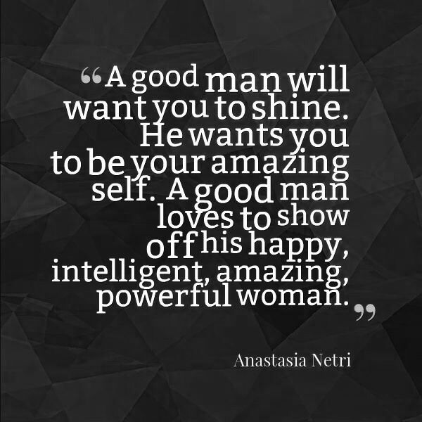 Women seeking good men