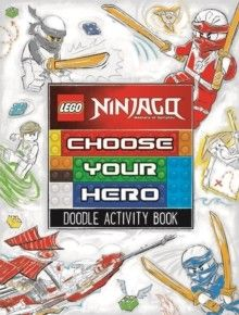 LEGO Star Wars: Choose Your Hero Doodle Activity Book