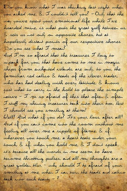 excerpt from a love letter from edith wharton to morton fullerton during their passionate affair