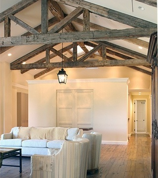 Reclaimed Beams From Old Barns Schools And Factories Aren