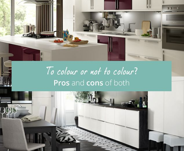 Should you opt for a single neutral colour throughout your kitchen to create a uniform look or go for splashes of colour that add interest and depth to your design? Discover the pros and- cons on our blog.
