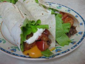 The Recipe Blog: Meat and Potato Burrito